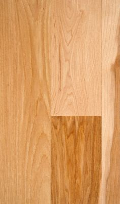 3/4&#034; x 5&#034; Natural Hickory